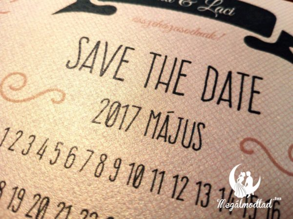 Save the Date kártya 15.